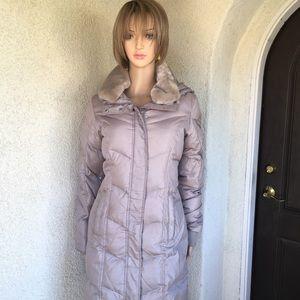 Michael Kors Coat Size S color Gray.
